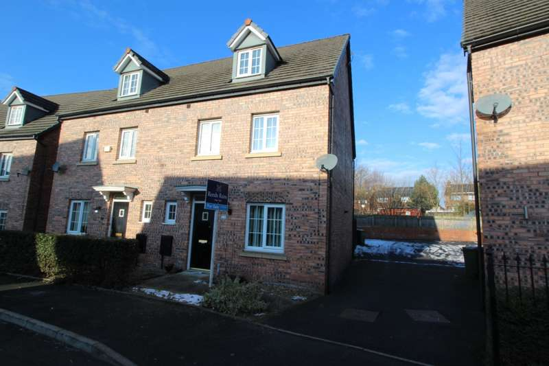 4 Bedrooms Semi Detached House for sale in Kestrel Close, Hyde, Cheshire, SK14