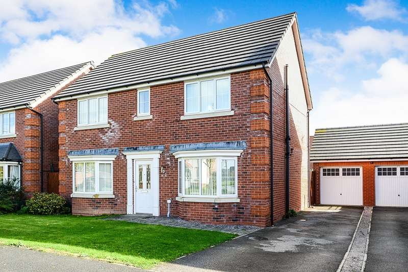 4 Bedrooms Detached House for sale in Ffordd Aberkinsey, Rhyl, Clwyd, LL18