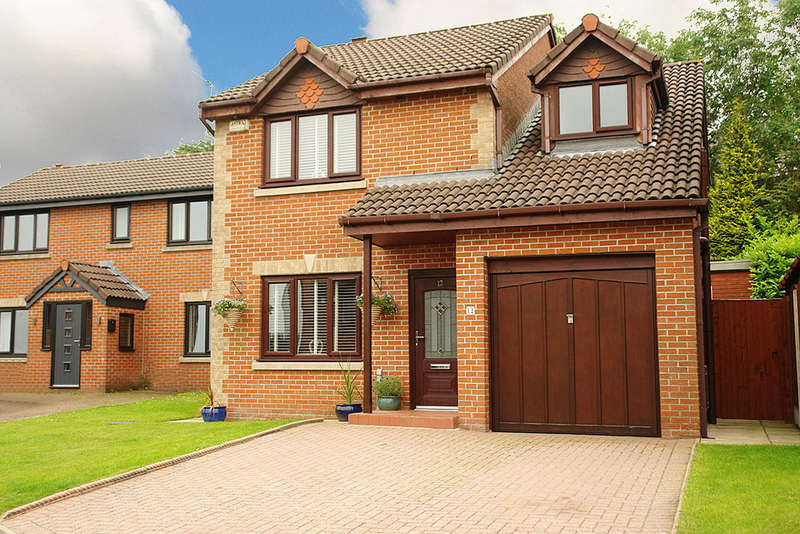 4 Bedrooms Detached House for sale in Green Park View, Oldham