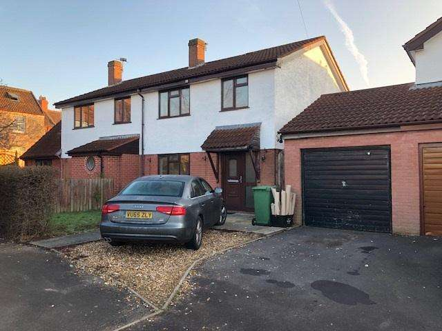3 Bedrooms Semi Detached House for rent in Bignal Rand Close, Wells