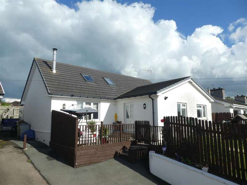 3 Bedrooms Detached Bungalow for sale in Akarana, Ffosyffin, Aberaeron