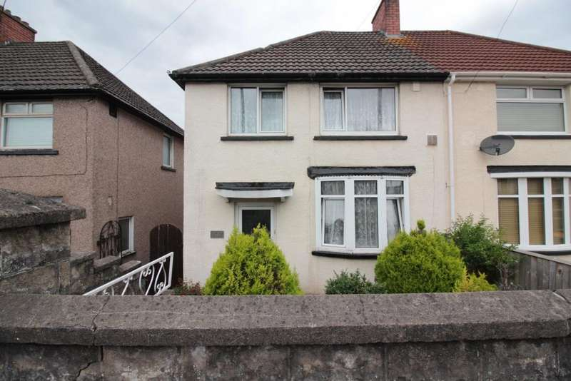 3 Bedrooms Semi Detached House for sale in Malpas Road, Malpas, Newport