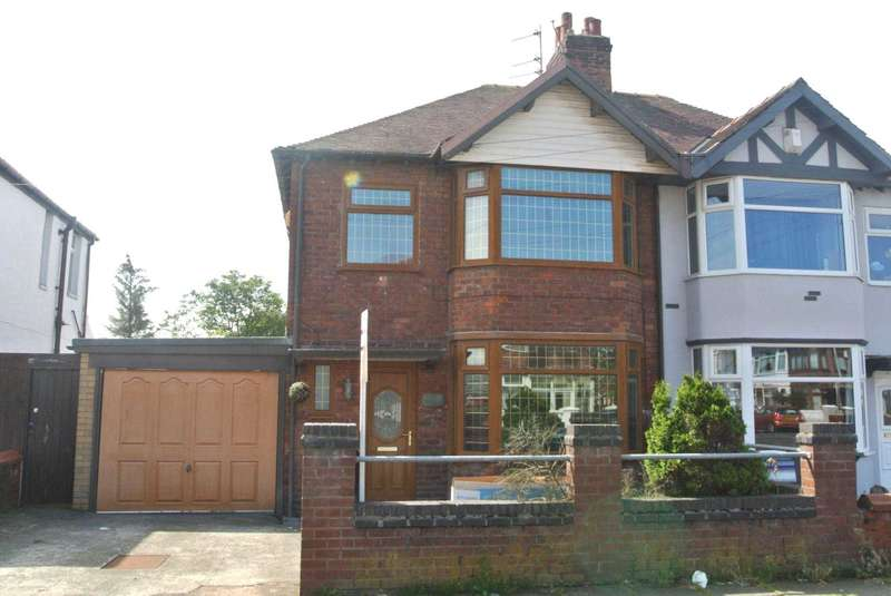 3 Bedrooms Semi Detached House for sale in Eaton Avenue, Blackpool, FY1 6LG