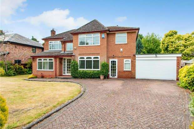 4 Bedrooms Detached House for sale in Gorse Bank Road, Hale Barns