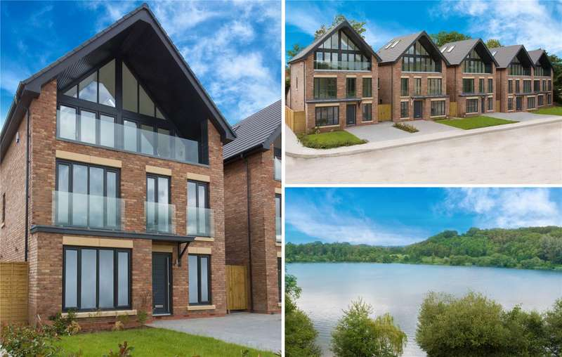 4 Bedrooms Detached House for sale in Mere View, Astbury Mere, Congleton, Cheshire, CW12