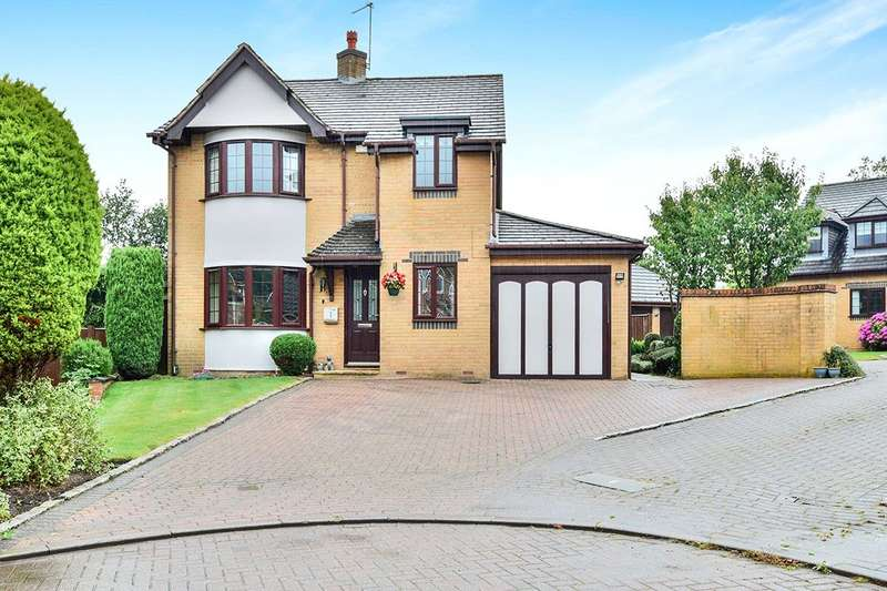 4 Bedrooms Detached House for sale in Holcombe Drive, Tytherington, Macclesfield, Cheshire, SK10
