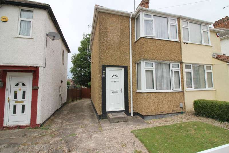 2 Bedrooms Semi Detached House for sale in Third Avenue, Luton, Bedfordshire, LU3 3ER