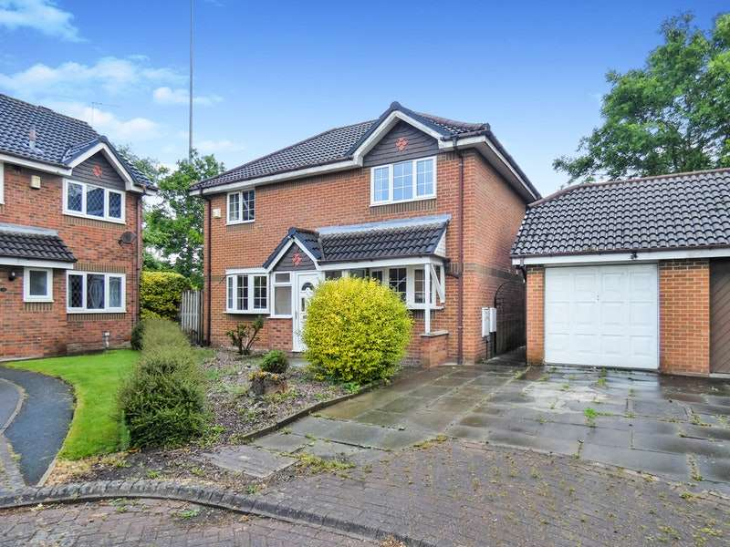 3 Bedrooms Detached House for sale in Steventon, Runcorn, Cheshire, WA7