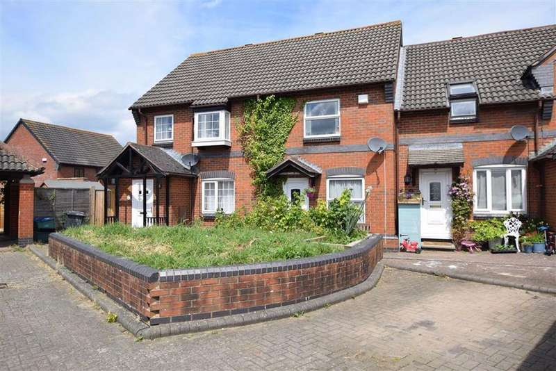 2 Bedrooms Terraced House for sale in Chestnut Road, Abbeymead, Gloucester