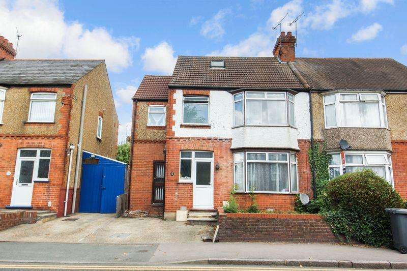 4 Bedrooms Semi Detached House for sale in Stockingstone Road, Luton