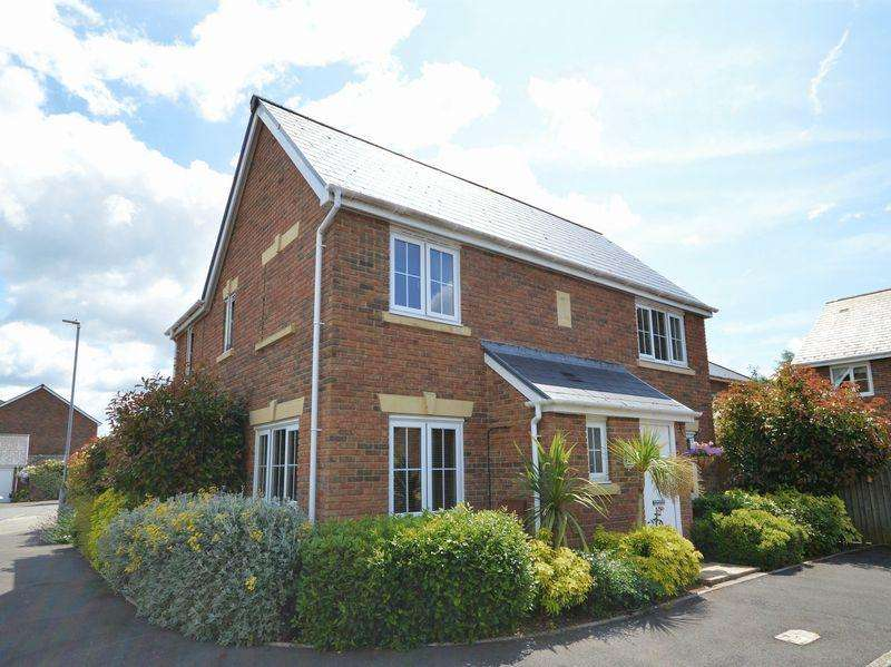 4 Bedrooms Detached House for sale in Cordell Close, Llanfoist, Abergavenny