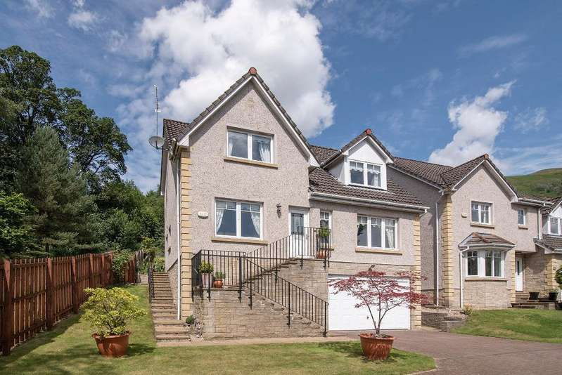 4 Bedrooms Detached House for sale in Willison Crescent, Tillicoultry, Clackmananshire, Scotland, FK13 6NZ