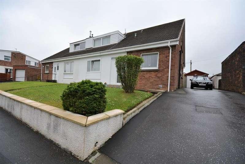 3 Bedrooms Semi Detached House for sale in Grougar Drive, Kilmarnock, KA3