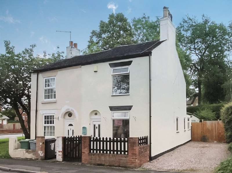 2 Bedrooms Semi Detached House for sale in Astbury Lane Ends, Congleton, Cheshire, CW12