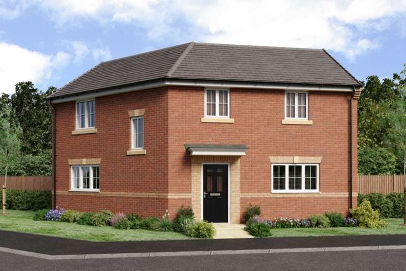 3 Bedrooms Detached House for sale in The Landings, Coppull, Chorley, Lancashire, PR7
