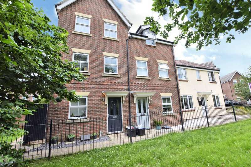3 Bedrooms End Of Terrace House for sale in Beatty Rise, Spencers Wood, Reading, RG7
