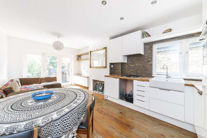 2 Bedrooms Ground Flat for sale in Burrows Road, Kensal Rise