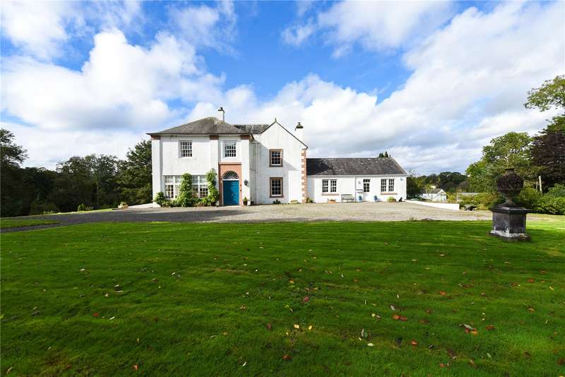 6 Bedrooms Detached House for sale in Cushatwood, Ann Street, Gatehouse of Fleet, Castle Douglas, Dumfries and Galloway, DG7