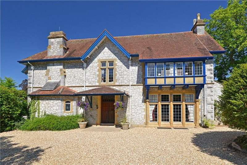 7 Bedrooms Detached House for sale in Daracombe Park, Mile End Road, Newton Abbot, Devon, TQ12