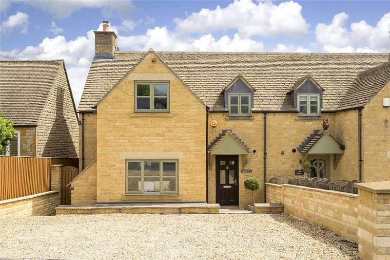 3 Bedrooms Semi Detached House for sale in St. Edwards Drive, Stow on the Wold, Cheltenham, GL54