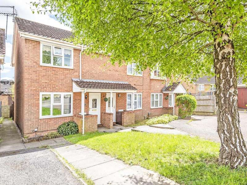 2 Bedrooms Semi Detached House for sale in Colmworth Close, Lower Earley, Reading, RG6