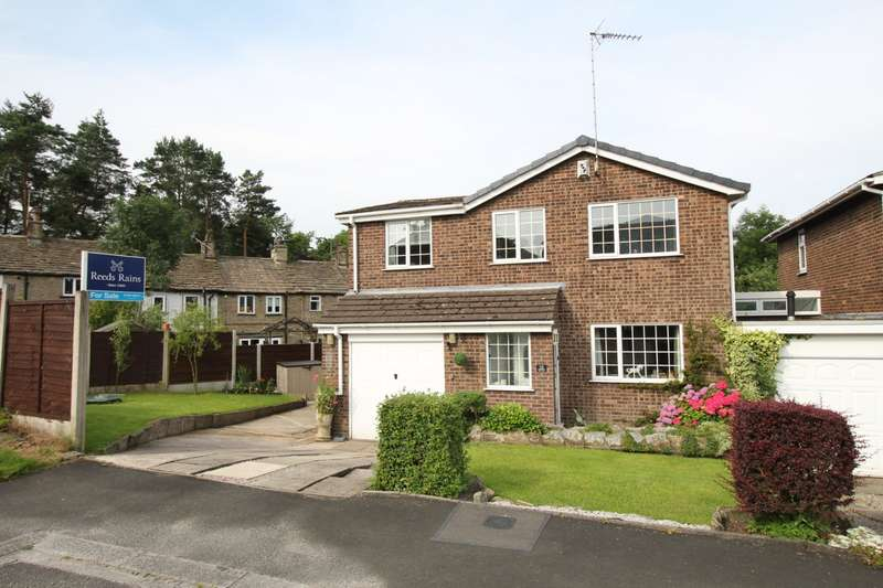 5 Bedrooms Detached House for sale in Friars Close, Rainow, Macclesfield, Cheshire, SK10