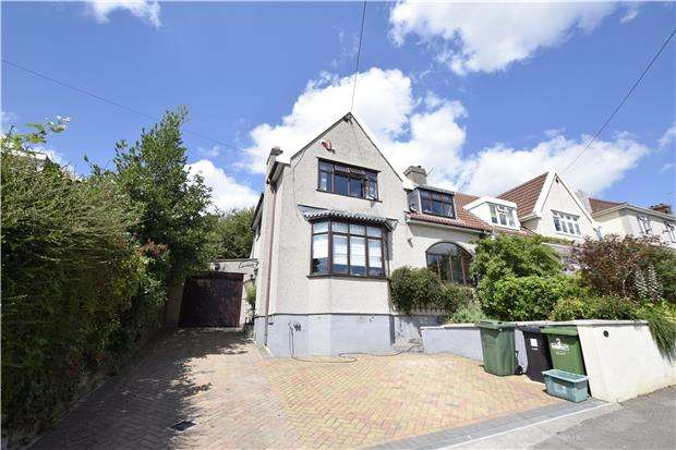 3 Bedrooms Semi Detached House for sale in Northfield Avenue, Hanham, BS15 3RB