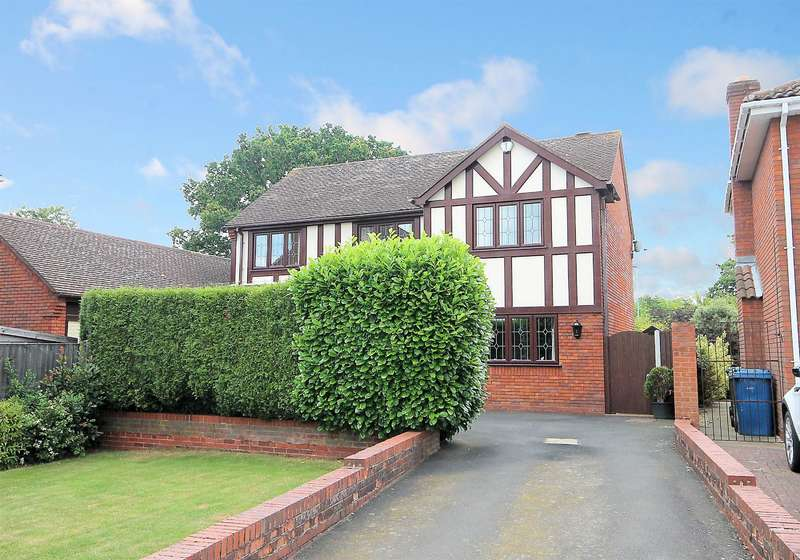 4 Bedrooms Detached House for sale in Deepdale, Tamworth, B77 4PD