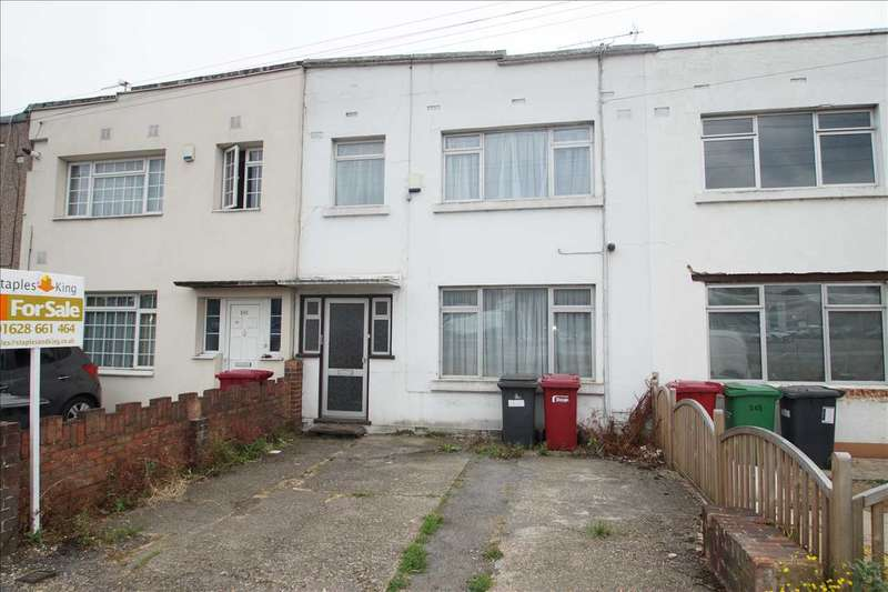 3 Bedrooms Terraced House for sale in Bath Road, Cippenham, Slough