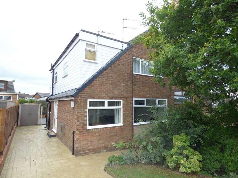 4 Bedrooms Semi Detached House for sale in Ashfield Crescent, Springhead, Saddleworth, OL4