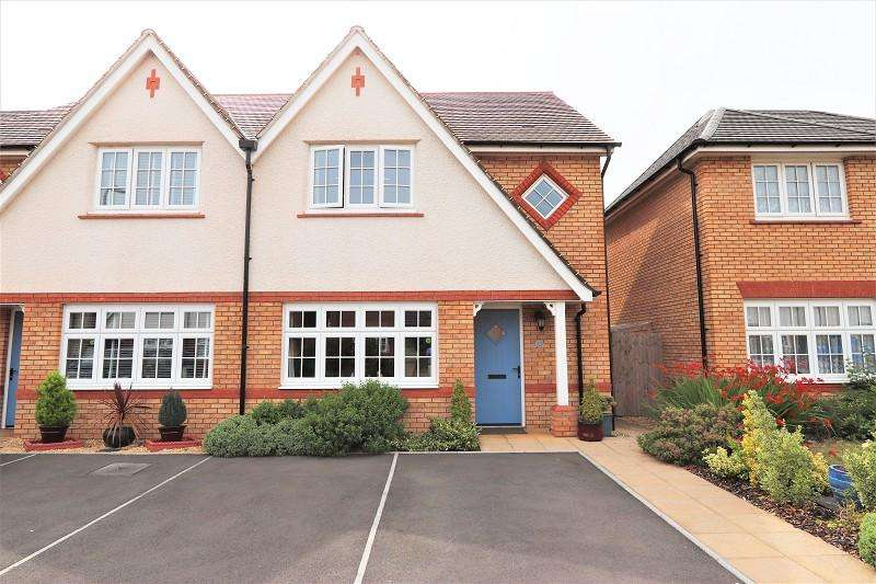3 Bedrooms Semi Detached House for sale in Capel Dewi Hall Road, Newport. NP20 2QP