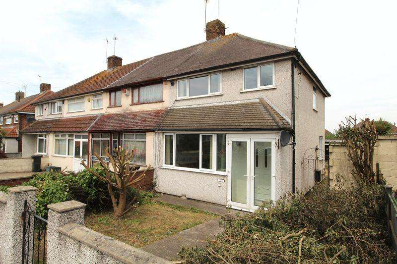 3 Bedrooms End Of Terrace House for sale in Worthing Road, Patchway