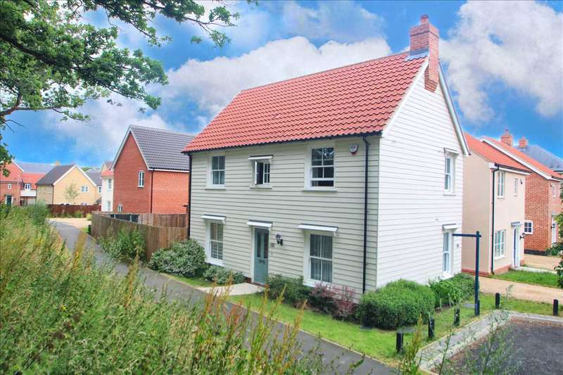 4 Bedrooms Link Detached House for sale in Brimstone Chase, Stanway, Colchester