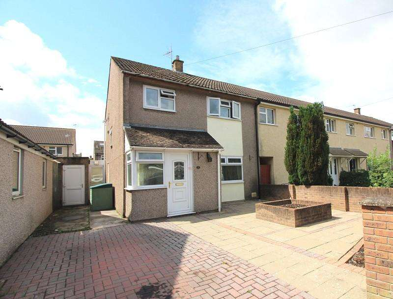 3 Bedrooms Semi Detached House for sale in Byron Place, Caldicot