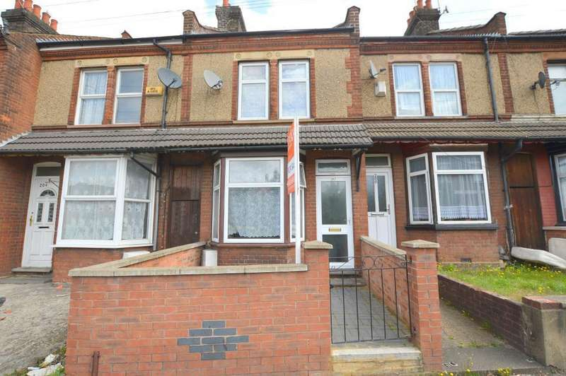 2 Bedrooms Terraced House for sale in Dallow Road, Luton, Bedfordshire, LU1 1NQ