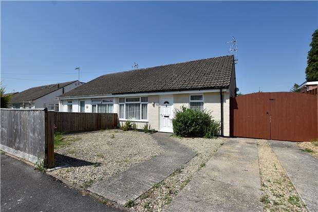2 Bedrooms Semi Detached Bungalow for sale in Longlands Close, Bishops Cleeve GL52