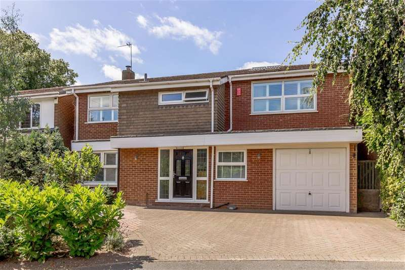 4 Bedrooms Detached House for sale in Upper St. John Street, Lichfield