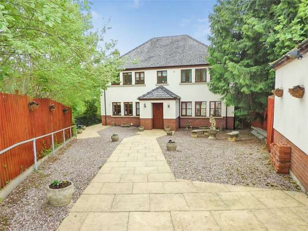 5 Bedrooms Detached House for sale in Mount Street, Welshpool, Powys