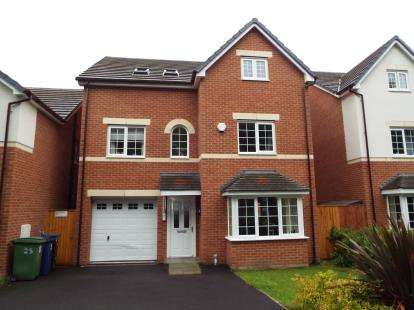 5 Bedrooms Detached House for sale in Woodland Walks, Rhostyllen, Wrexham, LL14