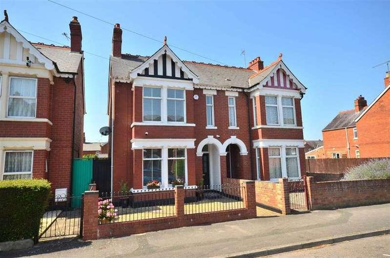 3 Bedrooms Semi Detached House for sale in Central Road, Linden, Gloucester, GL1