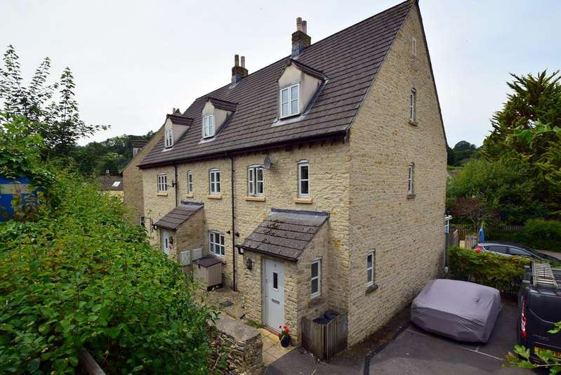 3 Bedrooms End Of Terrace House for sale in Brewery Lane, Nailsworth, Stroud, GL6