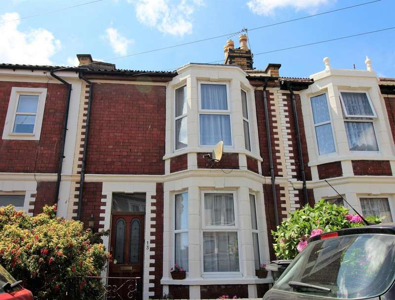 2 Bedrooms Terraced House for sale in Balaclava Road, Fishponds, Bristol, BS16 3LJ