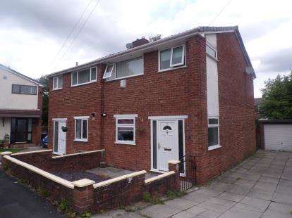 3 Bedrooms Semi Detached House for sale in Exmouth Way, Burtonwood, Warrington, Cheshire