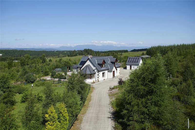 4 Bedrooms Detached House for sale in Taigh Na Coille - The Whole, Abriachan, Inverness, IV3