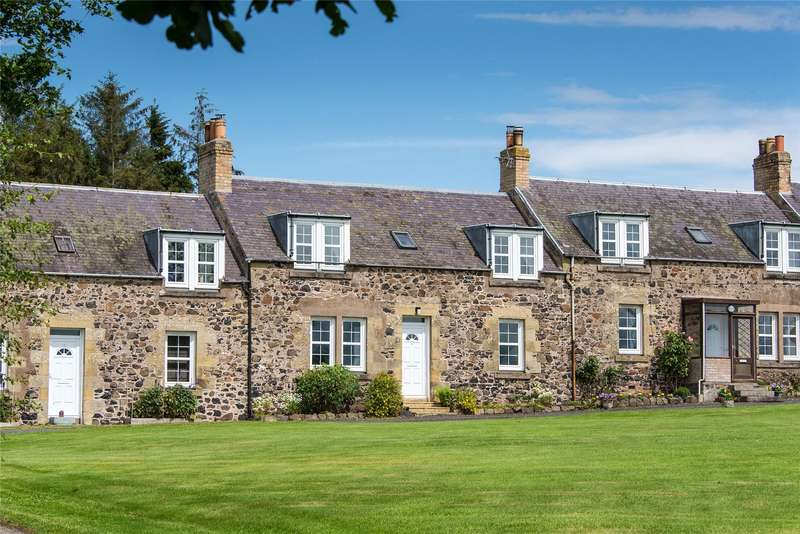 2 Bedrooms Terraced House for sale in 3 Frogden Farm Cottages, Kelso, Scottish Borders, TD5
