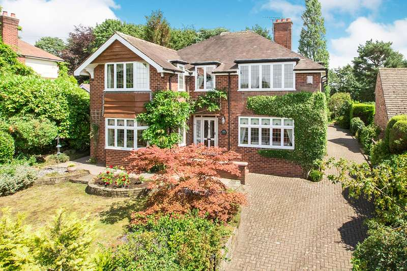 5 Bedrooms Detached House for sale in Newcastle Road, Congleton, Cheshire, CW12