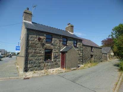 3 Bedrooms Detached House for sale in Llanaelhaearn, Caernarfon, Gwynedd, ., LL54
