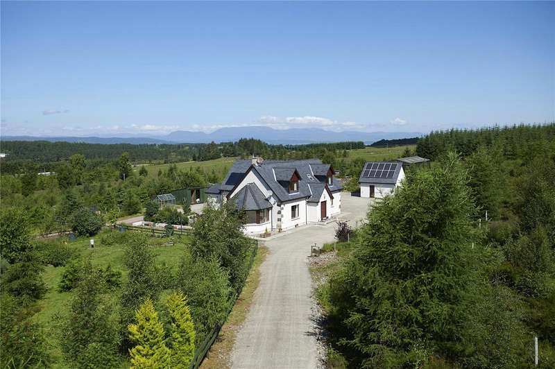 4 Bedrooms Detached House for sale in Taigh Na Coille - Lot 1, Abriachan, Inverness, IV3
