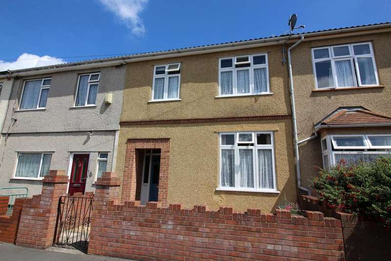 3 Bedrooms Terraced House for sale in Dominion Road, Fishponds, Bristol, BS16 3EW