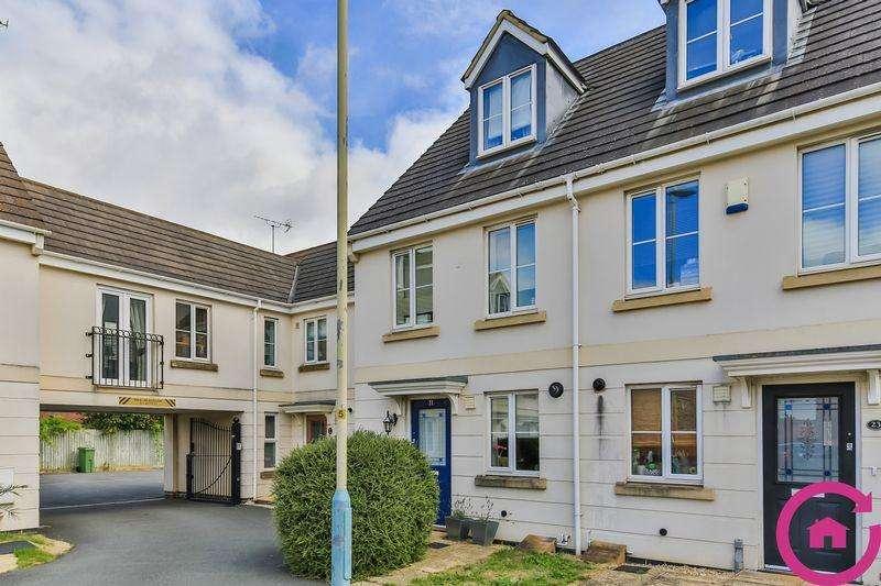 3 Bedrooms End Of Terrace House for sale in Rosebay Gardens, Cheltenham